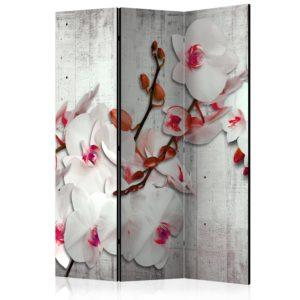 Paravent 3 volets - Concrete Orchid
