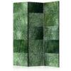 Paravent 3 volets - Green Puzzle