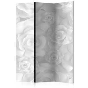Paravent 3 volets - Plaster Flowers