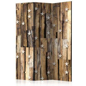 Paravent 3 volets - Wooden Constellation