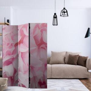 Paravent 3 volets - azalea (pink) séparateur de piece