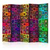 Paravent 5 volets - Colorful Abstract Art II