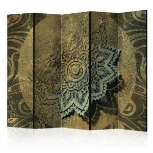 Paravent 5 volets - Golden Treasure II