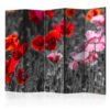 Paravent 5 volets - Red Poppies II