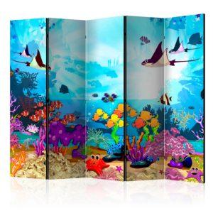 Paravent 5 volets - Underwater Fun