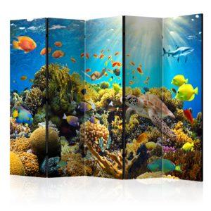 Paravent 5 volets - Underwater Land II