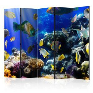 Paravent 5 volets - Underwater adventure