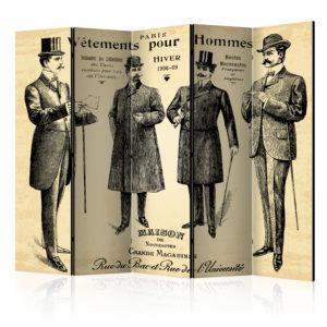 Paravent 5 volets - Vêtements pour Homme II