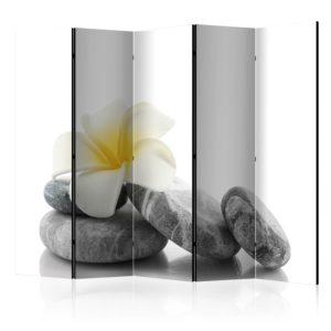 Paravent 5 volets - White Lotus II
