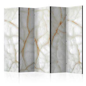 Paravent 5 volets - White Marble