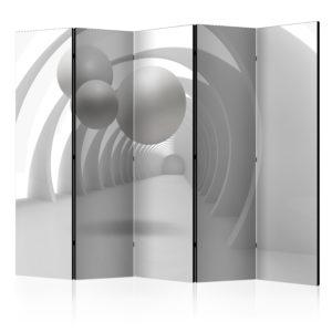 Paravent 5 volets - White Tunnel II