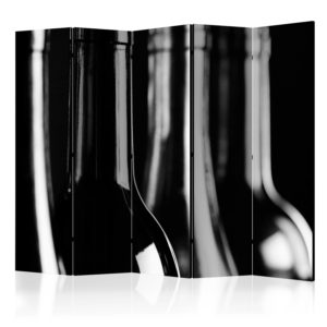 Paravent 5 volets - Wine Bottles II