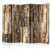 Paravent 5 volets - Wooden Constellation II