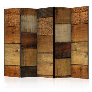 Paravent 5 volets - Wooden Textures