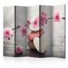 Paravent 5 volets - Zen Flowers II