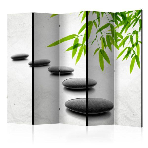 Paravent 5 volets - Zen Stones II