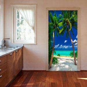 Papier-peint pour porte - Photo wallpaper - Island