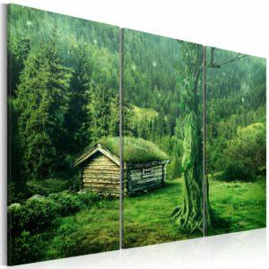 Tableau - écosystème forestier fait partie des tableaux murales de la collection de worldofwomen découvrez ce magnifique tableau exclusif chez nous