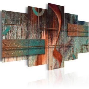 Tableau - Abstract Melody fait partie des tableaux murales de la collection de worldofwomen découvrez ce magnifique tableau exclusif chez nous