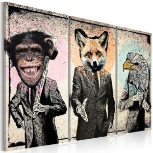Tableau - Affaires simiennes fait partie des tableaux murales de la collection de worldofwomen découvrez ce magnifique tableau exclusif chez nous