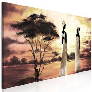 Tableau - African Goddesses (1 Part) Narrow fait partie des tableaux murales de la collection de worldofwomen découvrez ce magnifique tableau exclusif chez nous