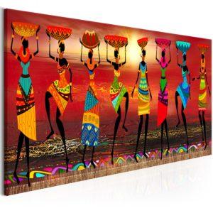 Tableau - African Women Dancing fait partie des tableaux murales de la collection de worldofwomen découvrez ce magnifique tableau exclusif chez nous