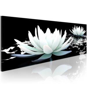 Tableau - Alabaster lilies fait partie des tableaux murales de la collection de worldofwomen découvrez ce magnifique tableau exclusif chez nous