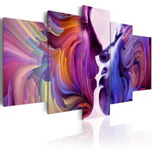Tableau - Amour irisé fait partie des tableaux murales de la collection de worldofwomen découvrez ce magnifique tableau exclusif chez nous