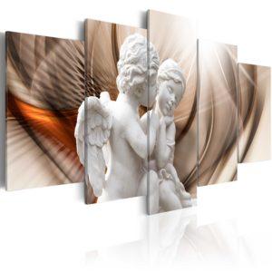 Tableau - Angelic Duet fait partie des tableaux murales de la collection de worldofwomen découvrez ce magnifique tableau exclusif chez nous