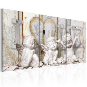 Tableau - Angelic Happiness fait partie des tableaux murales de la collection de worldofwomen découvrez ce magnifique tableau exclusif chez nous