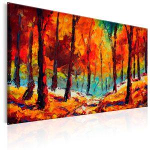 Tableau - Artistic Autumn fait partie des tableaux murales de la collection de worldofwomen découvrez ce magnifique tableau exclusif chez nous