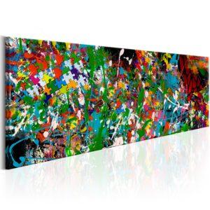 Tableau - Artistic Puzzle fait partie des tableaux murales de la collection de worldofwomen découvrez ce magnifique tableau exclusif chez nous