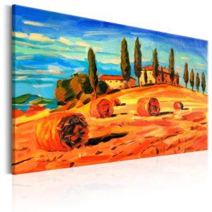 Tableau - August in Tuscany fait partie des tableaux murales de la collection de worldofwomen découvrez ce magnifique tableau exclusif chez nous