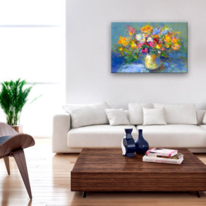 Tableaux > Fleurs > Bouquets de fleurs ce catalogue des tableaux déco pour tout types de murs et prêt à poser