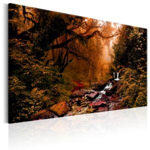 Tableau - Autumn Waterfall fait partie des tableaux murales de la collection de worldofwomen découvrez ce magnifique tableau exclusif chez nous