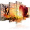 Tableau - Autumnal Love fait partie des tableaux murales de la collection de worldofwomen découvrez ce magnifique tableau exclusif chez nous
