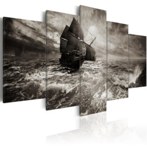 Tableau - Bateau dans la tempête! fait partie des tableaux murales de la collection de worldofwomen découvrez ce magnifique tableau exclusif chez nous