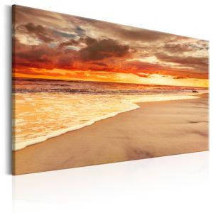 Tableau - Beach: Beatiful Sunset II fait partie des tableaux murales de la collection de worldofwomen découvrez ce magnifique tableau exclusif chez nous