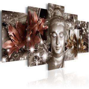 Tableau -  Bijou de méditation fait partie des tableaux murales de la collection de worldofwomen découvrez ce magnifique tableau exclusif chez nous