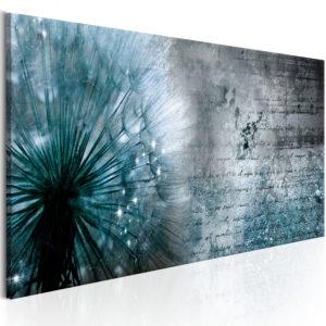 Tableau - Blue Dandelion fait partie des tableaux murales de la collection de worldofwomen découvrez ce magnifique tableau exclusif chez nous