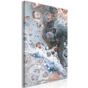 Tableau - Blue Sienna Marble (1 Part) Vertical fait partie des tableaux murales de la collection de worldofwomen découvrez ce magnifique tableau exclusif chez nous