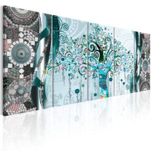 Tableau - Blue Tree fait partie des tableaux murales de la collection de worldofwomen découvrez ce magnifique tableau exclusif chez nous
