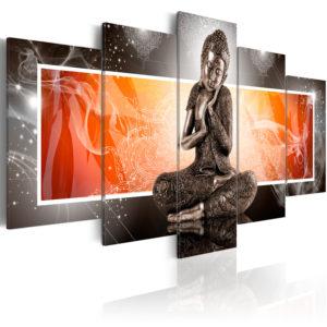 Tableau - Bouddha et ornements fait partie des tableaux murales de la collection de worldofwomen découvrez ce magnifique tableau exclusif chez nous