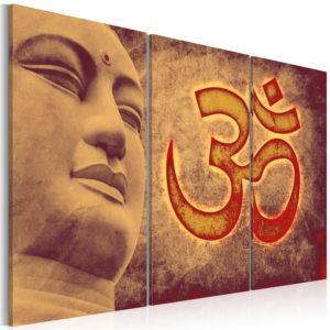 Tableau - Bouddha - symbole fait partie des tableaux murales de la collection de worldofwomen découvrez ce magnifique tableau exclusif chez nous
