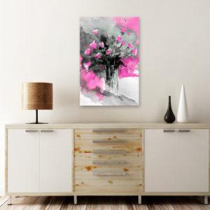 Tableaux > Fleurs > Fleurs variées ce catalogue des tableaux déco pour tout types de murs et prêt à poser