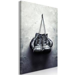 Tableau - Boxing Gloves (1 Part) Vertical fait partie des tableaux murales de la collection de worldofwomen découvrez ce magnifique tableau exclusif chez nous