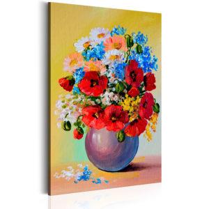 Tableau - Bunch of Wildflowers fait partie des tableaux murales de la collection de worldofwomen découvrez ce magnifique tableau exclusif chez nous