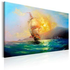 Tableau - Burning Sky fait partie des tableaux murales de la collection de worldofwomen découvrez ce magnifique tableau exclusif chez nous
