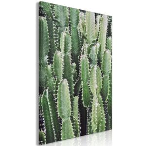 Tableau - Cactus Garden (1 Part) Vertical fait partie des tableaux murales de la collection de worldofwomen découvrez ce magnifique tableau exclusif chez nous