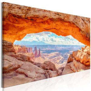 Tableau - Canyon in Utah (1 Part) Narrow fait partie des tableaux murales de la collection de worldofwomen découvrez ce magnifique tableau exclusif chez nous